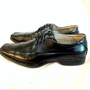 MADDEN MENS AWOL OXFORDS BLACK LEATHER SIZR 8